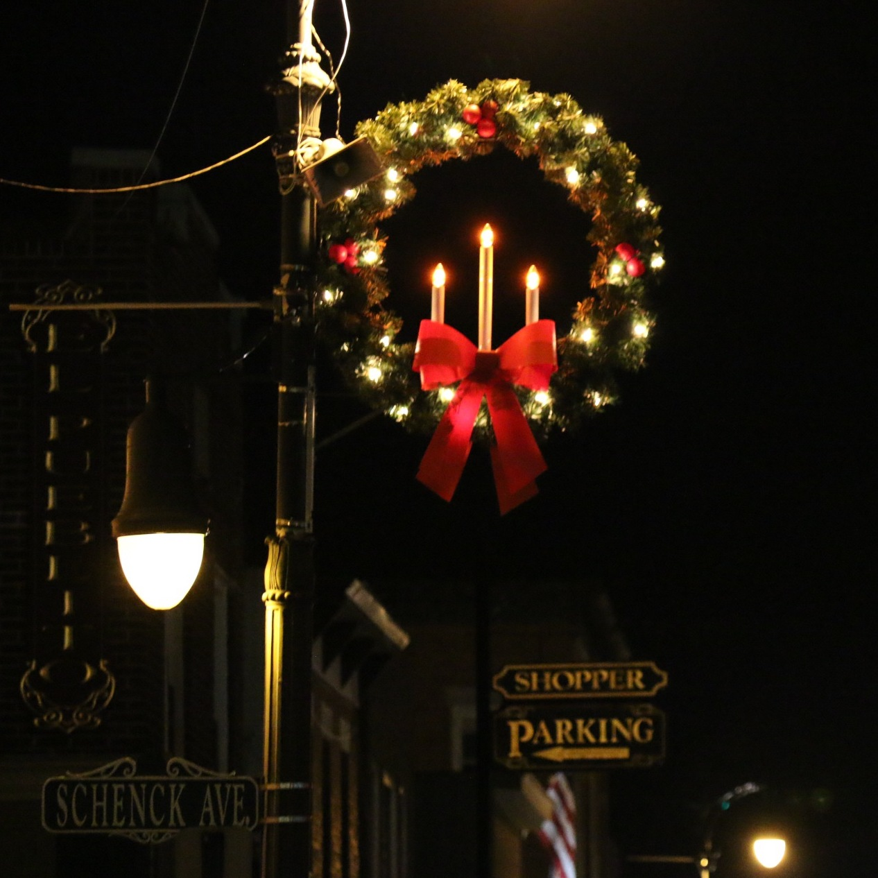 At The End Of Year Holiday Time, The BID Displays Decorations And Provide  Holiday Music.