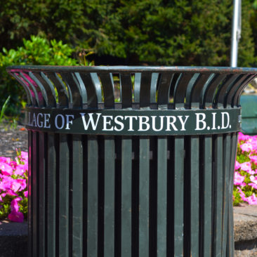 Westbury BID Trash Can