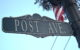 Post Ave sign
