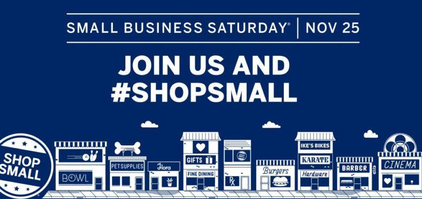 #ShopSmall Saturday November 25th, 2017!