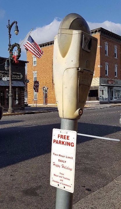 FREE Holiday Parking at Village Meters on Post Avenue