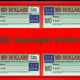 BID Spotlight Dollars