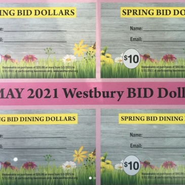 Spring BID Dollars